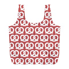 Trendy Pretzel Illustrations Pattern Full Print Recycle Bags (l)  by creativemom