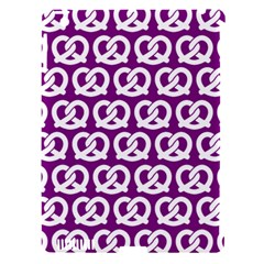 Purple Pretzel Illustrations Pattern Apple Ipad 3/4 Hardshell Case (compatible With Smart Cover)