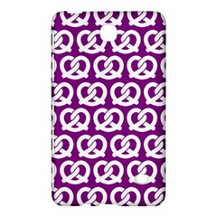 Purple Pretzel Illustrations Pattern Samsung Galaxy Tab 4 (8 ) Hardshell Case