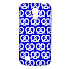 Blue Pretzel Illustrations Pattern Galaxy S4 Mini by creativemom