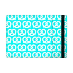 Aqua Pretzel Illustrations Pattern Ipad Mini 2 Flip Cases by creativemom