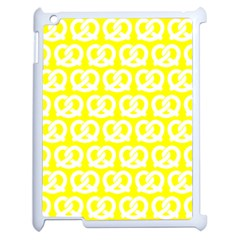Yellow Pretzel Illustrations Pattern Apple Ipad 2 Case (white) by creativemom