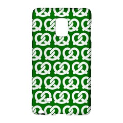 Green Pretzel Illustrations Pattern Galaxy Note Edge by creativemom