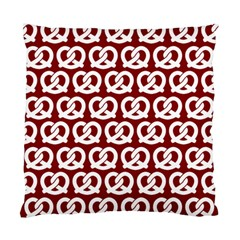 Red Pretzel Illustrations Pattern Standard Cushion Cases (two Sides)  by creativemom