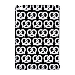 Black And White Pretzel Illustrations Pattern Apple Ipad Mini Hardshell Case (compatible With Smart Cover) by creativemom