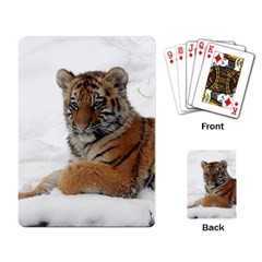 Tiger 2015 0101 Playing Card by JAMFoto