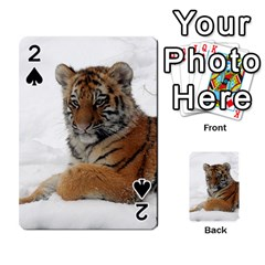 Tiger 2015 0101 Playing Cards 54 Designs