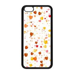 Heart 2014 0605 Apple Iphone 5c Seamless Case (black) by JAMFoto
