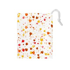Heart 2014 0605 Drawstring Pouches (medium)  by JAMFoto