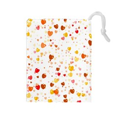 Heart 2014 0605 Drawstring Pouches (large)