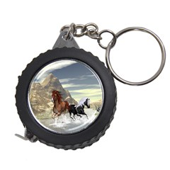 Beautiful Horses Running In A River Measuring Tapes by FantasyWorld7