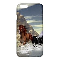 Beautiful Horses Running In A River Apple Iphone 6 Plus/6s Plus Hardshell Case by FantasyWorld7