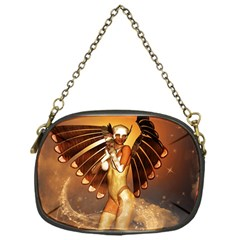 Beautiful Angel In The Sky Chain Purses (one Side)  by FantasyWorld7