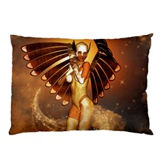 Beautiful Angel In The Sky Pillow Cases (two Sides) by FantasyWorld7