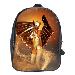 Beautiful Angel In The Sky School Bags (xl)  by FantasyWorld7