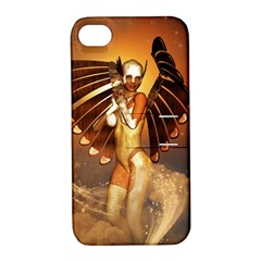 Beautiful Angel In The Sky Apple Iphone 4/4s Hardshell Case With Stand by FantasyWorld7