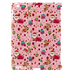 Red Christmas Pattern Apple Ipad 3/4 Hardshell Case (compatible With Smart Cover) by KirstenStar