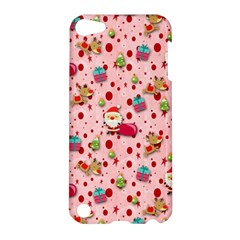 Red Christmas Pattern Apple Ipod Touch 5 Hardshell Case by KirstenStar