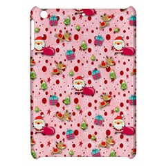 Red Christmas Pattern Apple Ipad Mini Hardshell Case by KirstenStar