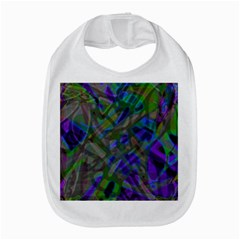 Colorful Abstract Stained Glass G301 Bib by MedusArt