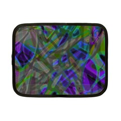 Colorful Abstract Stained Glass G301 Netbook Case (small)  by MedusArt