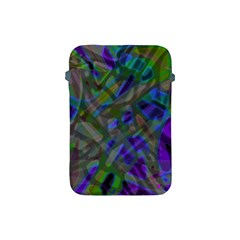 Colorful Abstract Stained Glass G301 Apple Ipad Mini Protective Soft Cases by MedusArt
