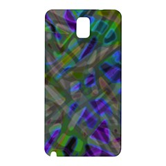 Colorful Abstract Stained Glass G301 Samsung Galaxy Note 3 N9005 Hardshell Back Case by MedusArt