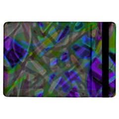 Colorful Abstract Stained Glass G301 Ipad Air Flip by MedusArt
