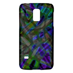 Colorful Abstract Stained Glass G301 Galaxy S5 Mini by MedusArt