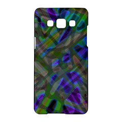 Colorful Abstract Stained Glass G301 Samsung Galaxy A5 Hardshell Case  by MedusArt