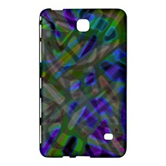 Colorful Abstract Stained Glass G301 Samsung Galaxy Tab 4 (7 ) Hardshell Case  by MedusArt