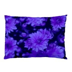 Phenomenal Blossoms Blue Pillow Cases by MoreColorsinLife