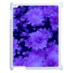 Phenomenal Blossoms Blue Apple Ipad 2 Case (white) by MoreColorsinLife