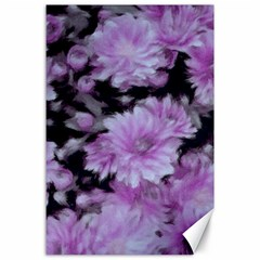 Phenomenal Blossoms Lilac Canvas 24  X 36  by MoreColorsinLife