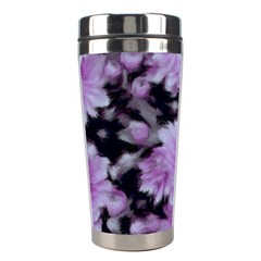 Phenomenal Blossoms Lilac Stainless Steel Travel Tumblers by MoreColorsinLife
