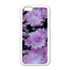 Phenomenal Blossoms Lilac Apple Iphone 6/6s White Enamel Case by MoreColorsinLife