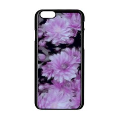 Phenomenal Blossoms Lilac Apple Iphone 6/6s Black Enamel Case by MoreColorsinLife