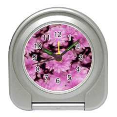 Phenomenal Blossoms Pink Travel Alarm Clocks