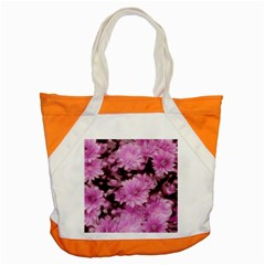 Phenomenal Blossoms Pink Accent Tote Bag  by MoreColorsinLife