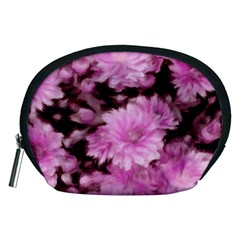 Phenomenal Blossoms Pink Accessory Pouches (medium)