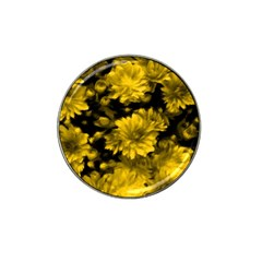 Phenomenal Blossoms Yellow Hat Clip Ball Marker (4 Pack)