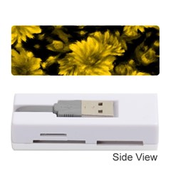 Phenomenal Blossoms Yellow Memory Card Reader (stick)
