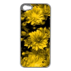 Phenomenal Blossoms Yellow Apple Iphone 5 Case (silver) by MoreColorsinLife