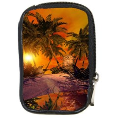 Wonderful Sunset In  A Fantasy World Compact Camera Cases by FantasyWorld7