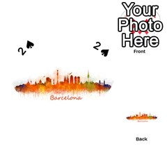 Barcelona City Art Playing Cards 54 (heart)  by hqphoto