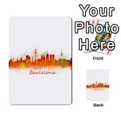 Barcelona City Art Multi Purpose Cards (rectangle)  by hqphoto