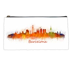 Barcelona City Art Pencil Cases by hqphoto