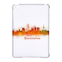 Barcelona City Art Apple Ipad Mini Hardshell Case (compatible With Smart Cover) by hqphoto
