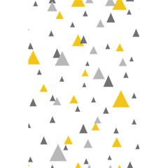 Pastel Random Triangles Modern Pattern 5 5  X 8 5  Notebooks by Dushan