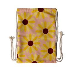 Sunflowers Everywhere Drawstring Bag (small)